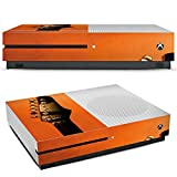 Microsoft XBox One S Folie Skin Sticker aus Vinyl-Folie Aufkleber Gitarre Saiten Instrument