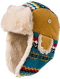 Color del telar jacquar de Lei Feng PAC otoño invierno/gruesas orejeras invierno sombrero/sombrero de esquí caliente