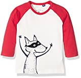 TOM TAILOR Kids, Langarmshirt, Artwork, Rot
