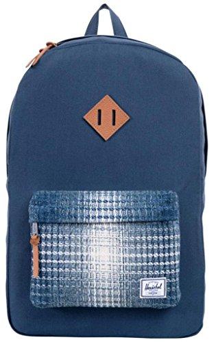 Herschel 10011-00001  Pop Quiz Backpack Rucksack, 1 Liter, Schwarz/Tan Blau