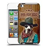 Head Case Designs Personalisierte Individuelle Pets Rock Cowboy Personalizierte Hülle Ruckseite Hülle für Apple iPod Touch 4G 4th Gen