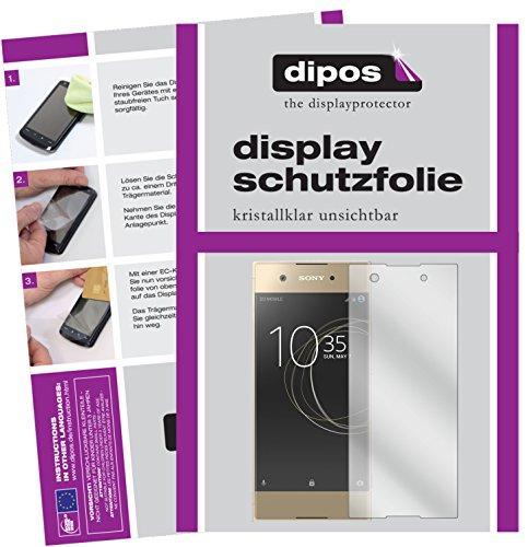 dipos I 6X Schutzfolie klar passend für Sony Xperia XA1 Folie Bildschirmschutzfolie