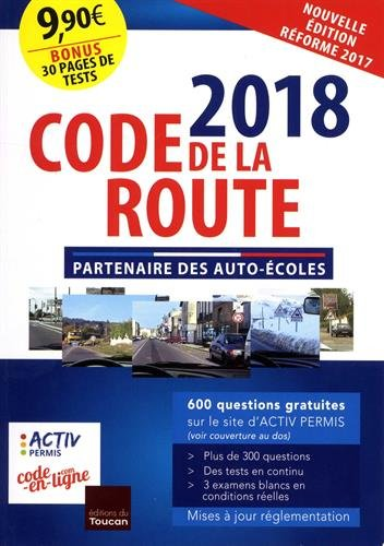 Code de la route 2018 par Collectif