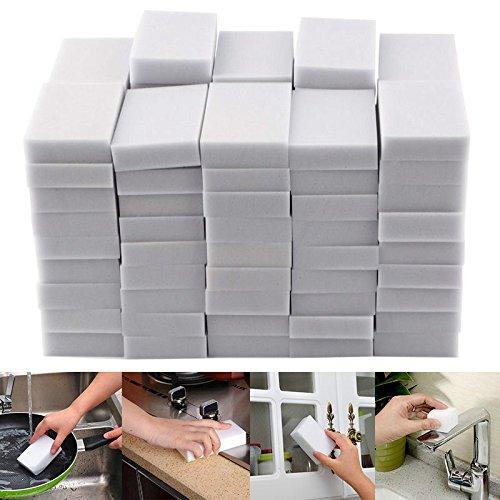 ZZM Magic Sponge Eraser Cleaning Melamine Multi-functional Foam Cleaner (40 PCS)