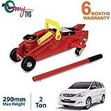 myTVS 2 Ton Car Hydraulic Trolley Jack for Toyota Innova