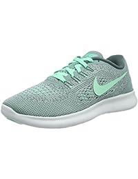 Nike Women's Free RN Running Shoe Cannon/Green Glow/Hasta/Off White Size 6.5 M US