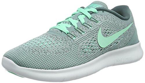 Nike Wmns Free RN, Scarpe da Corsa Donna Grigio (Cannon/hasta/off Weiß/grünes Glühen)