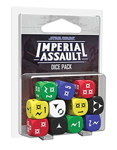 Edge Entertainment - Star Wars Imperial Assault, Set de Dados (EDFEDGSWI02)