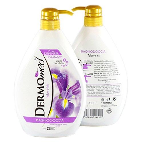 Bagno Doccia Talco e Iris 1000 ml Idratante Corpo