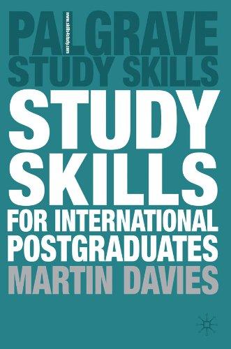 Study Skills for International Postgraduates (Palgrave Study Skills) (English Edition)