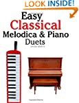 Easy Classical Melodica & Piano Duets...