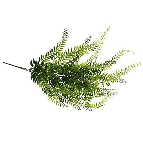 FLAMEER 64cm Künstliche Efeu Rebe Blumengirlande Girlande mit Blättern Dekoration
