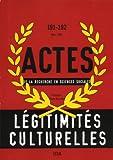 Actes de la recherche en sciences sociales, n°191-192. Recompositions des classes sociales (2)