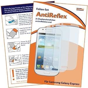 2 x mumbi Displayschutzfolie Samsung Galaxy Express Schutzfolie AntiReflex antireflektierend (NICHT für Galaxy Express 2)