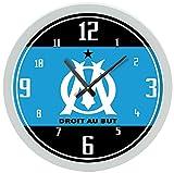 OM Horloge Murale Olympique de Marseille - Football Ligue 1 (30x30x4cm)...