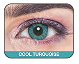 Cool Turquoise GLAMOUR EYE Color Contact...