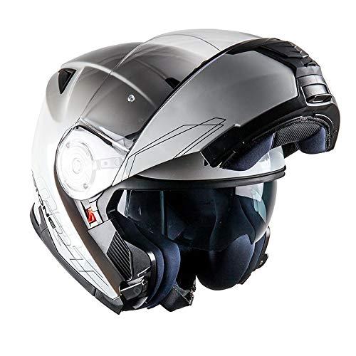 Astone Casque Modulable RT1200, Blanc, L