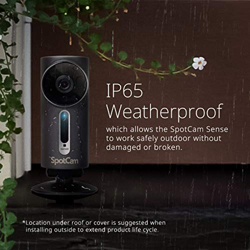 SpotCam 1080P Full-HD IP-Kamera / WLAN-Überwachungskamera Outdoor mit Smart Home Integration - 2