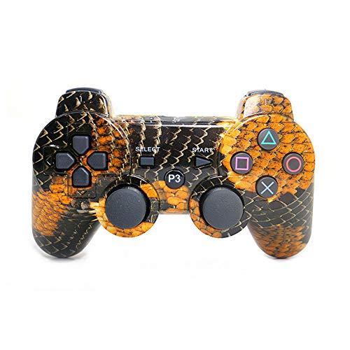 YUHUANG Bluetooth-Controller, PS3-Gamecontroller Drahtloser PC-Controller PS3-Joystick-Controller SIXAXIS-Steuerungsspielzubehör,E - Skorpion-controller Xbox 360