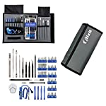 """""""Designed using the tool data from the thousands of free repair manuals on iFixit. -- Contained in a sleek grey tool roll the Pro Tech Toolkit will go with you to repair whatever you need. The Pro Tech Toolkit will have you fixing devices that are no..."""
