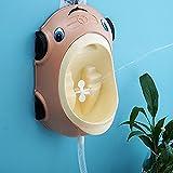 KK bébé garçon Urinoir Motif voiture | facile à nettoyer, amovible | Design ergonomique confortable | Funky Motif voiture Pot d'entraînement pour garçon