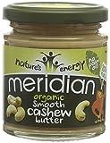 Meridian Organic Cashew Nut Butter 170 g (Pack of 6)