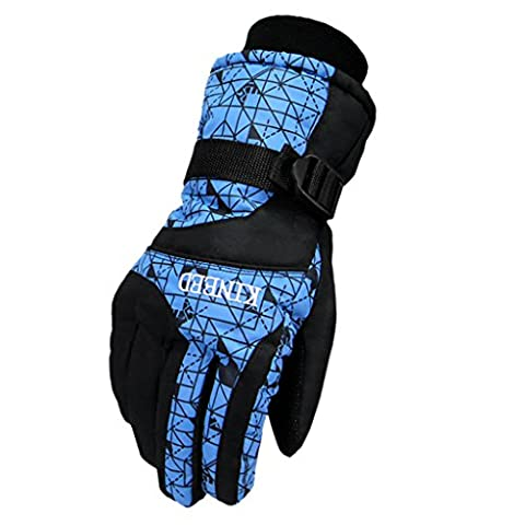 YF-36 Women's 3M Thinsulate Waterproof Outdoors Ski Gloves For Winter