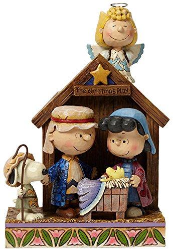 Peanuts von Jim Shore Krippenspiel Figur -