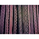 Rosa de encaje Vintage - 20 metre surtido, para boda cinta