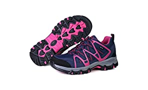 TFO Womens Walking Shoes - Lightweight Hiking Shoes Breathable Lace up All Season Shoes - for Trekking & Hiking