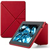 Amazon Origami Lederhülle mit Standfunktion für Kindle Fire HD (3. Generation - 2013 Modell), Rot