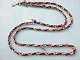 elropet Hundeleine Doppelleine 2,80m 4fach verstellbar Navajo 8farbig