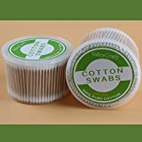 Valleycomfy Wooden Stick Cotton Swabs (1000pcs)