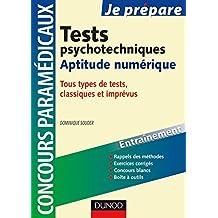 Tests psychotechniques : Aptitude numérique : Concours paramédicaux