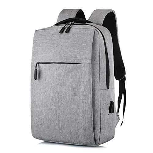 aptop-Rucksack, robuster Reiserucksack mit USB-Ladeanschluss, Mode-Laptop-Rucksack für 16-Zoll-Laptop-Pack für Frauen und Männer,A ()