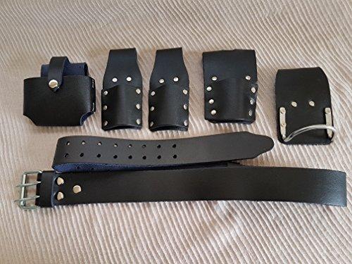 Andamios piel herramienta cinturón negro fuerte piel BBI martillo soporte nueva calidad Edition