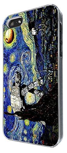 895 - Vincent Van Gogh Starry Night Star Wars robot Design iphone 4 4S Coque Fashion Trend Case Coque Protection Cover plastique et métal