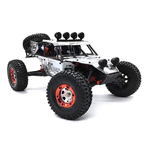 :12 4WD RC Truck 2.4GHz Ferngesteuert Auto Reifen OffRoad Düne Buggy RTR (Silber) (Lkw Oder Zu Behandeln)