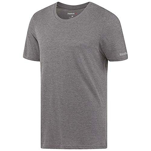 Reebok Crossfit Men's Grey Tri-Blend Crewneck T-Shirt (M) -