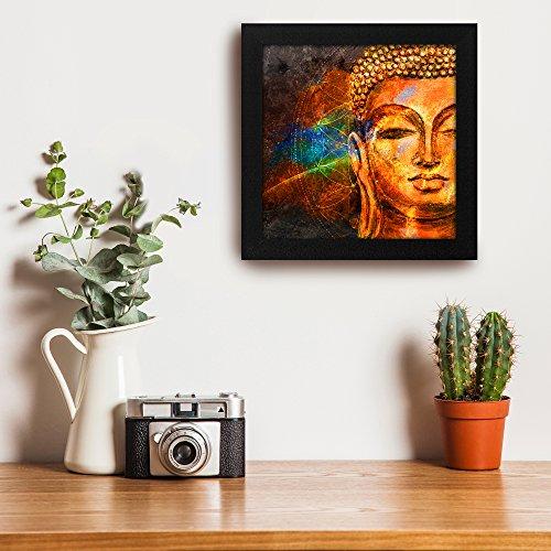 Story@Home Beautifully Printed Buddha Wall Art Painting (Wood, 30 cm x 3...