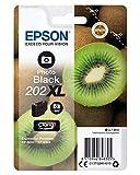 Epson Cartouche d'encre d'origine Pack de 1 pièce 202 Noir Amazon Dash Replenishment est prêt