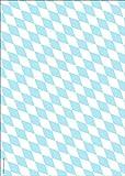 Bayerisch-schenken Papier Rautenmuster Bayern