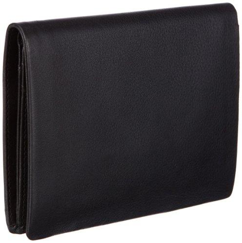 Maitre Equo Portemonnaie (HF) 06/95/01287, Unisex - Erwachsene Portemonnaies 10x13x2 cm (B x H x T) Schwarz (black 1)