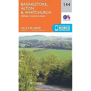 OS Explorer Map (144) Basingstoke, Alton and Whitchurch