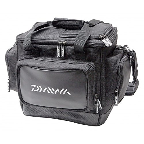 Borsa daiwa pellet carryall 30x25x30cm multitascacon due scatole portaoggetti