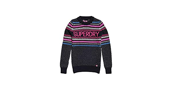 Details about Superdry Pull Academy Crew M6100018A Navy