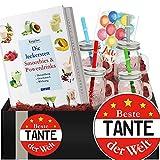 Beste Tante | Geschenkpaket Smoothies + Powerdrinks | Geschenkideen für Tante
