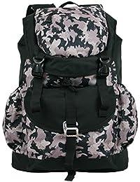83fff1821720f Bag Street Großer Trekking-Rucksack Wander-Rucksack Army Camouflage Rucksack  Freizeit Backpack geräumiger Daypack