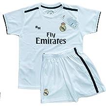 6e3f9654dac2e Real Madrid FC Kit Infantil Replica Primera Equipación 2018 2019 (4 ...