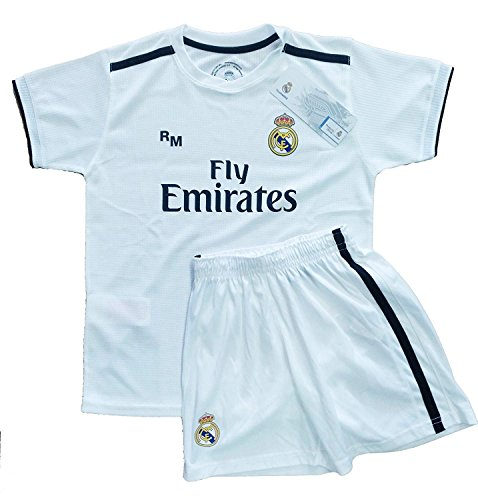 Real Madrid FC Kit Infantil Replica Primera Equipación